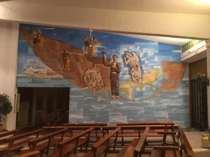 Mural para Iglesia en Valencia