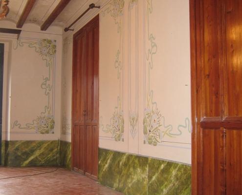 Masía Casa Sirvent Restauración Decoración Modernista